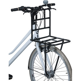 "Basil Carrier for 28"" Front Wheel matte black"